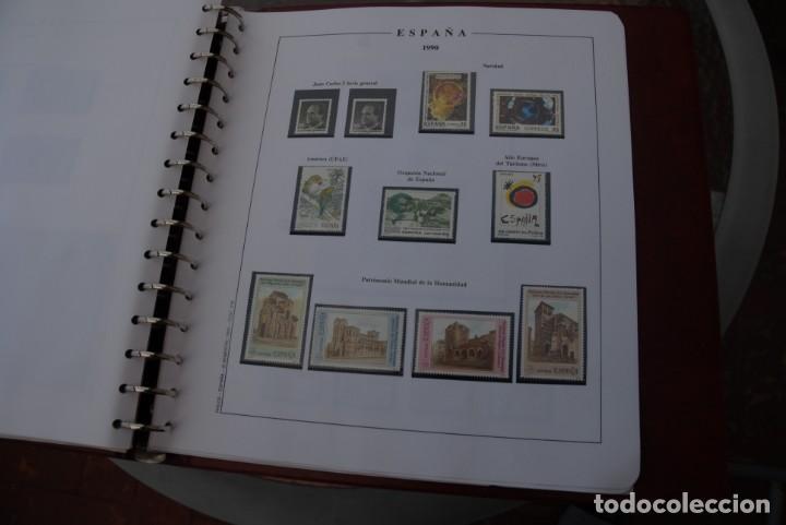 Sellos: ALBUM COLECCIÓN SELLOS ESPAÑA AÑOS 1983-1991. Hojas Philos. Nuevos. Completa. Ver fotos. - Foto 73 - 206839080