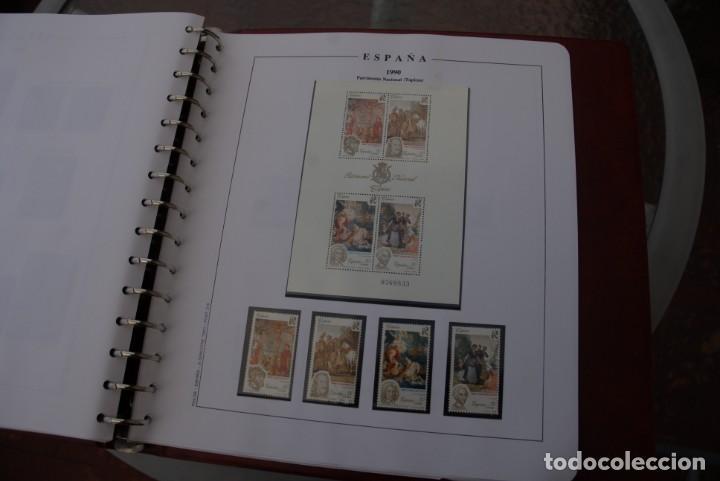 Sellos: ALBUM COLECCIÓN SELLOS ESPAÑA AÑOS 1983-1991. Hojas Philos. Nuevos. Completa. Ver fotos. - Foto 74 - 206839080