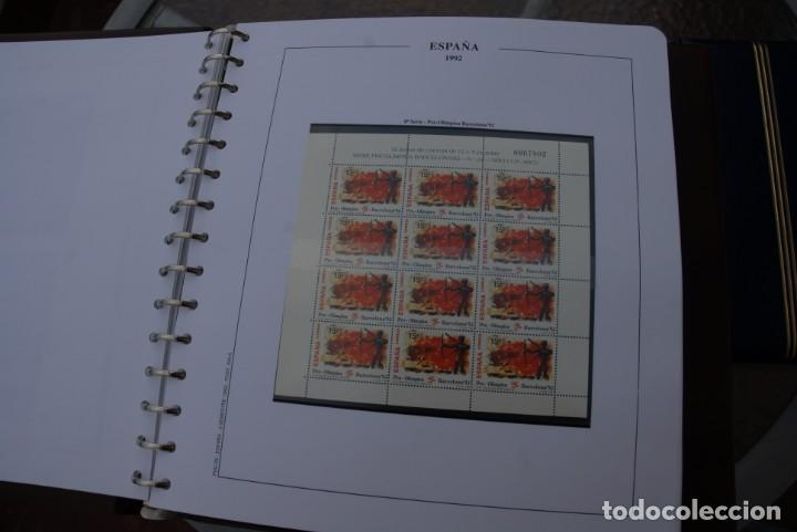 Sellos: ALBUM COLECCIÓN SELLOS ESPAÑA AÑOS 1992-1998. Hojas Philos. Nuevos. Completa. Ver fotos. - Foto 2 - 206839093