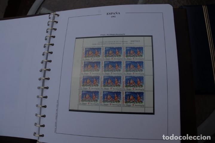Sellos: ALBUM COLECCIÓN SELLOS ESPAÑA AÑOS 1992-1998. Hojas Philos. Nuevos. Completa. Ver fotos. - Foto 3 - 206839093