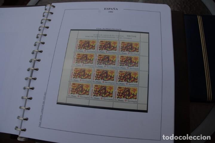 Sellos: ALBUM COLECCIÓN SELLOS ESPAÑA AÑOS 1992-1998. Hojas Philos. Nuevos. Completa. Ver fotos. - Foto 5 - 206839093
