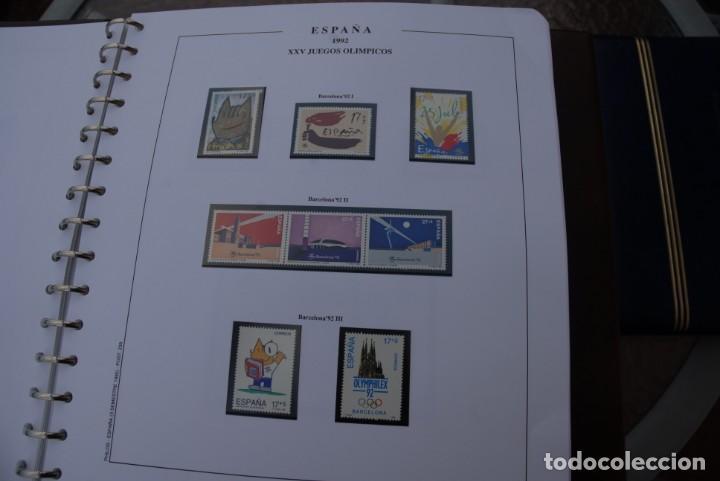 Sellos: ALBUM COLECCIÓN SELLOS ESPAÑA AÑOS 1992-1998. Hojas Philos. Nuevos. Completa. Ver fotos. - Foto 6 - 206839093