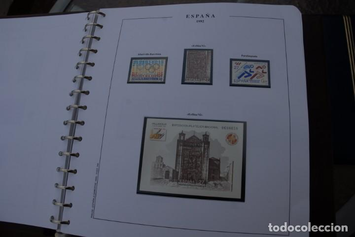 Sellos: ALBUM COLECCIÓN SELLOS ESPAÑA AÑOS 1992-1998. Hojas Philos. Nuevos. Completa. Ver fotos. - Foto 7 - 206839093