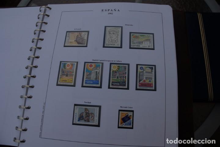 Sellos: ALBUM COLECCIÓN SELLOS ESPAÑA AÑOS 1992-1998. Hojas Philos. Nuevos. Completa. Ver fotos. - Foto 8 - 206839093