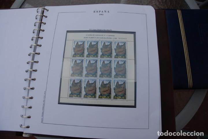 Sellos: ALBUM COLECCIÓN SELLOS ESPAÑA AÑOS 1992-1998. Hojas Philos. Nuevos. Completa. Ver fotos. - Foto 10 - 206839093