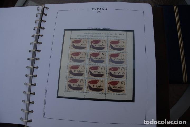 Sellos: ALBUM COLECCIÓN SELLOS ESPAÑA AÑOS 1992-1998. Hojas Philos. Nuevos. Completa. Ver fotos. - Foto 11 - 206839093