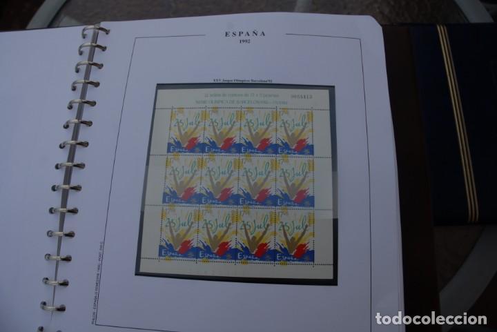 Sellos: ALBUM COLECCIÓN SELLOS ESPAÑA AÑOS 1992-1998. Hojas Philos. Nuevos. Completa. Ver fotos. - Foto 12 - 206839093
