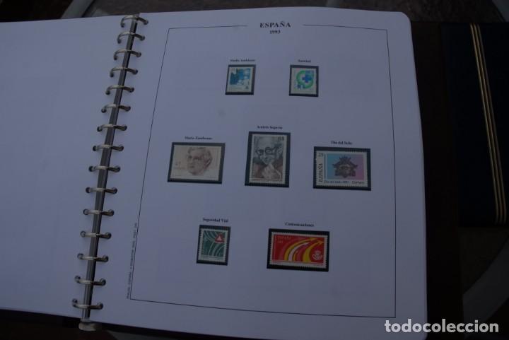 Sellos: ALBUM COLECCIÓN SELLOS ESPAÑA AÑOS 1992-1998. Hojas Philos. Nuevos. Completa. Ver fotos. - Foto 13 - 206839093
