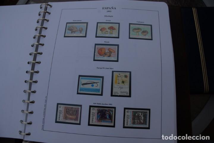 Sellos: ALBUM COLECCIÓN SELLOS ESPAÑA AÑOS 1992-1998. Hojas Philos. Nuevos. Completa. Ver fotos. - Foto 14 - 206839093