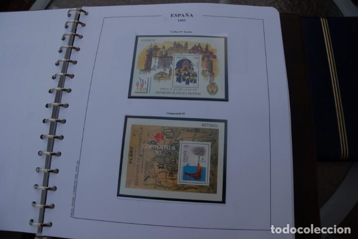 Sellos: ALBUM COLECCIÓN SELLOS ESPAÑA AÑOS 1992-1998. Hojas Philos. Nuevos. Completa. Ver fotos. - Foto 15 - 206839093