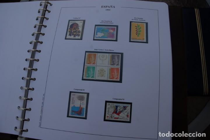 Sellos: ALBUM COLECCIÓN SELLOS ESPAÑA AÑOS 1992-1998. Hojas Philos. Nuevos. Completa. Ver fotos. - Foto 16 - 206839093