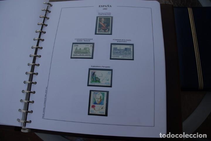 Sellos: ALBUM COLECCIÓN SELLOS ESPAÑA AÑOS 1992-1998. Hojas Philos. Nuevos. Completa. Ver fotos. - Foto 17 - 206839093