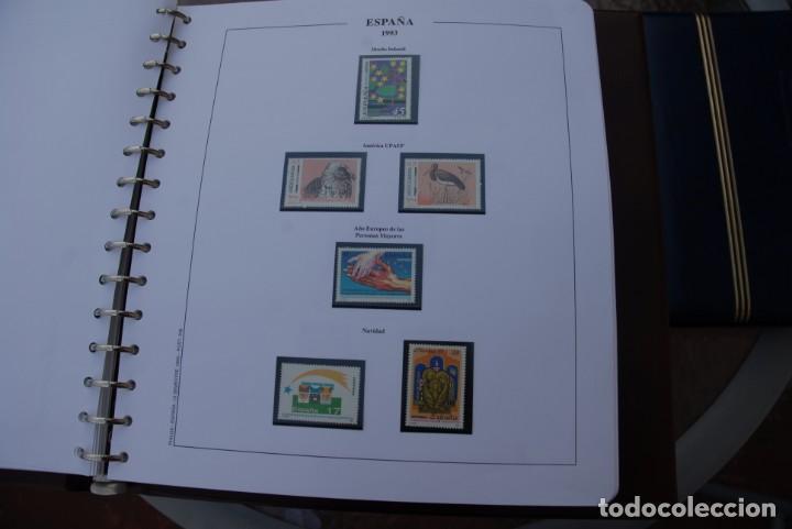 Sellos: ALBUM COLECCIÓN SELLOS ESPAÑA AÑOS 1992-1998. Hojas Philos. Nuevos. Completa. Ver fotos. - Foto 18 - 206839093