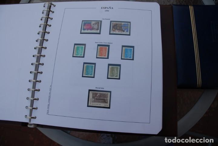 Sellos: ALBUM COLECCIÓN SELLOS ESPAÑA AÑOS 1992-1998. Hojas Philos. Nuevos. Completa. Ver fotos. - Foto 20 - 206839093