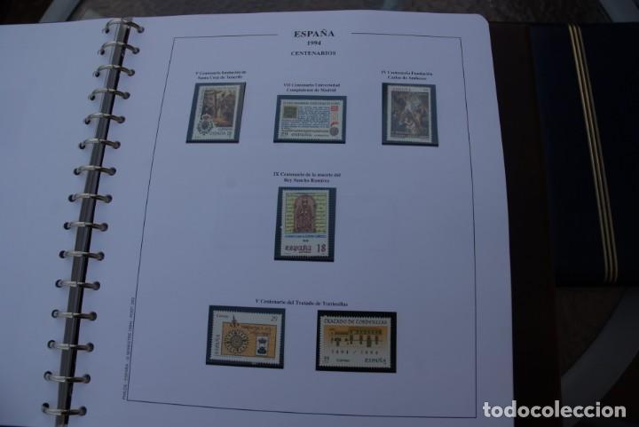 Sellos: ALBUM COLECCIÓN SELLOS ESPAÑA AÑOS 1992-1998. Hojas Philos. Nuevos. Completa. Ver fotos. - Foto 23 - 206839093