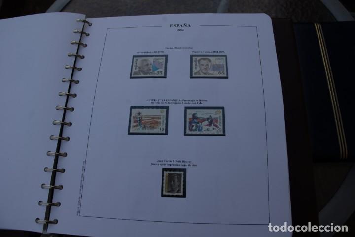 Sellos: ALBUM COLECCIÓN SELLOS ESPAÑA AÑOS 1992-1998. Hojas Philos. Nuevos. Completa. Ver fotos. - Foto 24 - 206839093