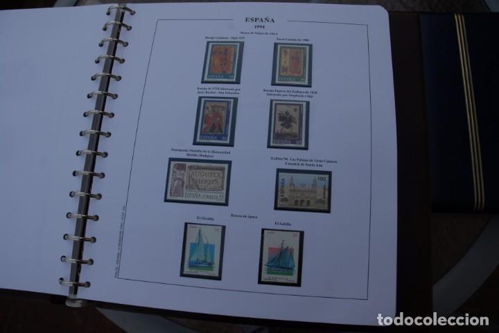 Sellos: ALBUM COLECCIÓN SELLOS ESPAÑA AÑOS 1992-1998. Hojas Philos. Nuevos. Completa. Ver fotos. - Foto 25 - 206839093