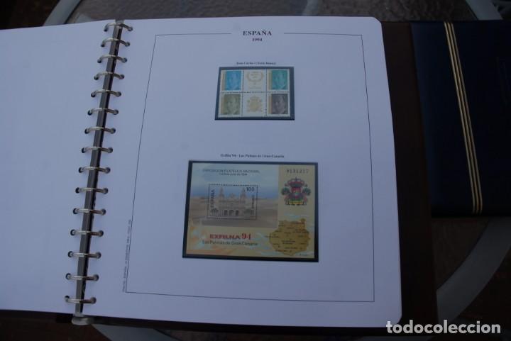 Sellos: ALBUM COLECCIÓN SELLOS ESPAÑA AÑOS 1992-1998. Hojas Philos. Nuevos. Completa. Ver fotos. - Foto 26 - 206839093