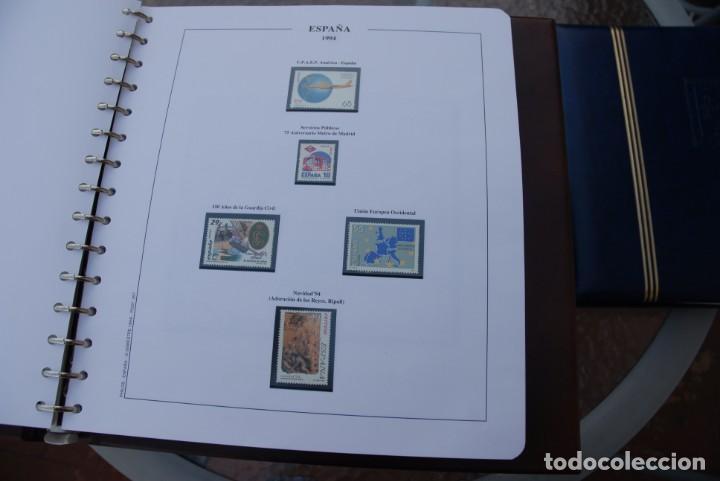Sellos: ALBUM COLECCIÓN SELLOS ESPAÑA AÑOS 1992-1998. Hojas Philos. Nuevos. Completa. Ver fotos. - Foto 27 - 206839093