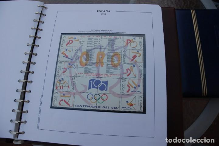 Sellos: ALBUM COLECCIÓN SELLOS ESPAÑA AÑOS 1992-1998. Hojas Philos. Nuevos. Completa. Ver fotos. - Foto 28 - 206839093