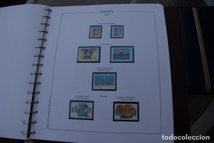 Sellos: ALBUM COLECCIÓN SELLOS ESPAÑA AÑOS 1992-1998. Hojas Philos. Nuevos. Completa. Ver fotos. - Foto 29 - 206839093