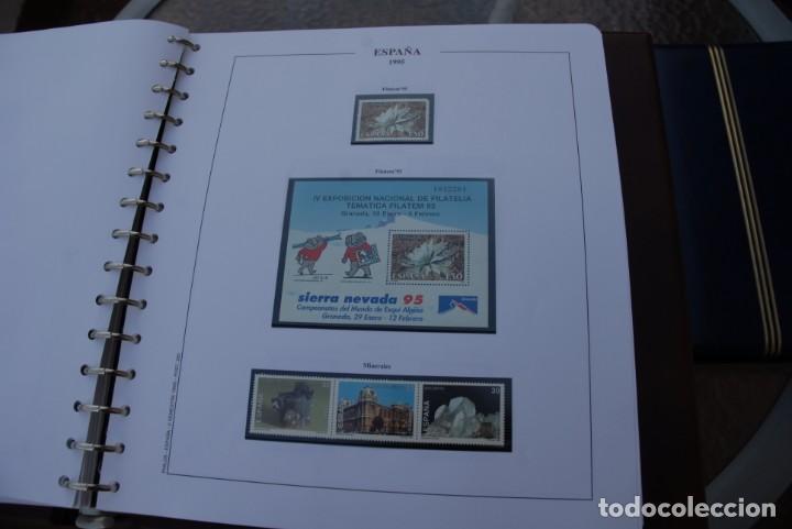 Sellos: ALBUM COLECCIÓN SELLOS ESPAÑA AÑOS 1992-1998. Hojas Philos. Nuevos. Completa. Ver fotos. - Foto 30 - 206839093