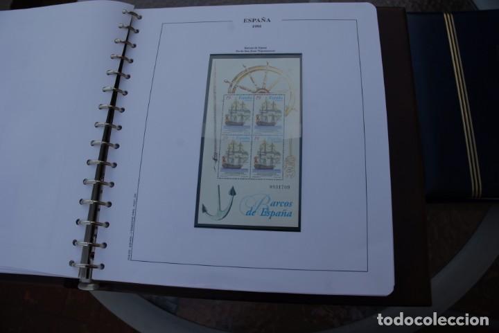 Sellos: ALBUM COLECCIÓN SELLOS ESPAÑA AÑOS 1992-1998. Hojas Philos. Nuevos. Completa. Ver fotos. - Foto 32 - 206839093