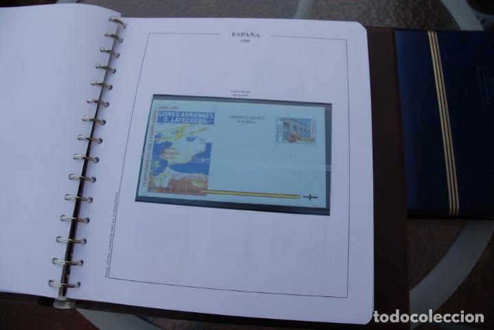 Sellos: ALBUM COLECCIÓN SELLOS ESPAÑA AÑOS 1992-1998. Hojas Philos. Nuevos. Completa. Ver fotos. - Foto 35 - 206839093