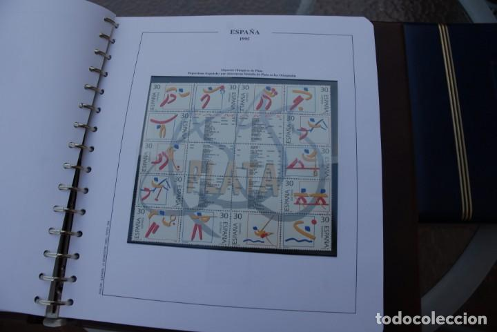 Sellos: ALBUM COLECCIÓN SELLOS ESPAÑA AÑOS 1992-1998. Hojas Philos. Nuevos. Completa. Ver fotos. - Foto 37 - 206839093