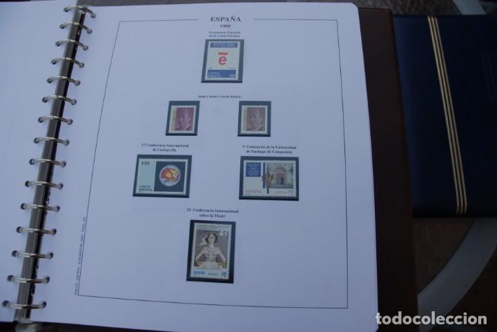 Sellos: ALBUM COLECCIÓN SELLOS ESPAÑA AÑOS 1992-1998. Hojas Philos. Nuevos. Completa. Ver fotos. - Foto 38 - 206839093