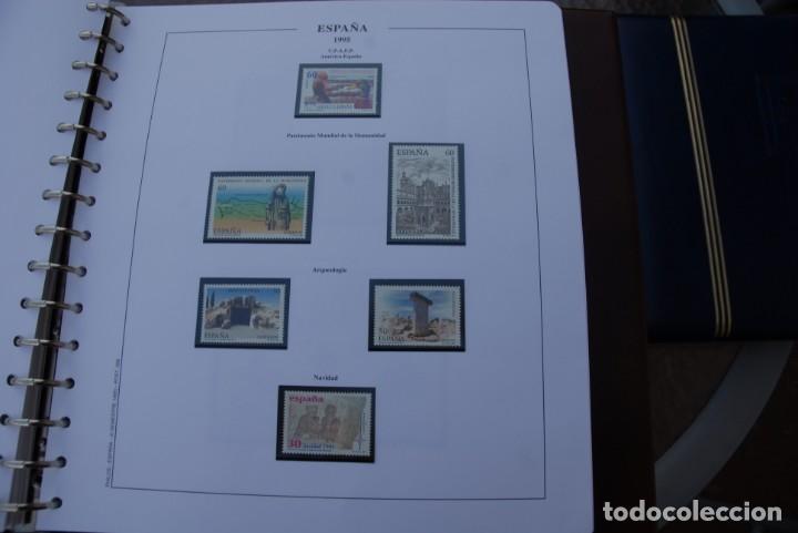 Sellos: ALBUM COLECCIÓN SELLOS ESPAÑA AÑOS 1992-1998. Hojas Philos. Nuevos. Completa. Ver fotos. - Foto 39 - 206839093
