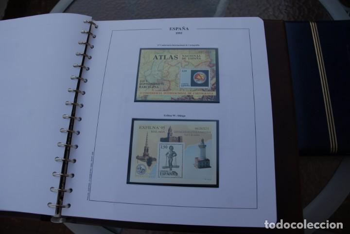 Sellos: ALBUM COLECCIÓN SELLOS ESPAÑA AÑOS 1992-1998. Hojas Philos. Nuevos. Completa. Ver fotos. - Foto 40 - 206839093
