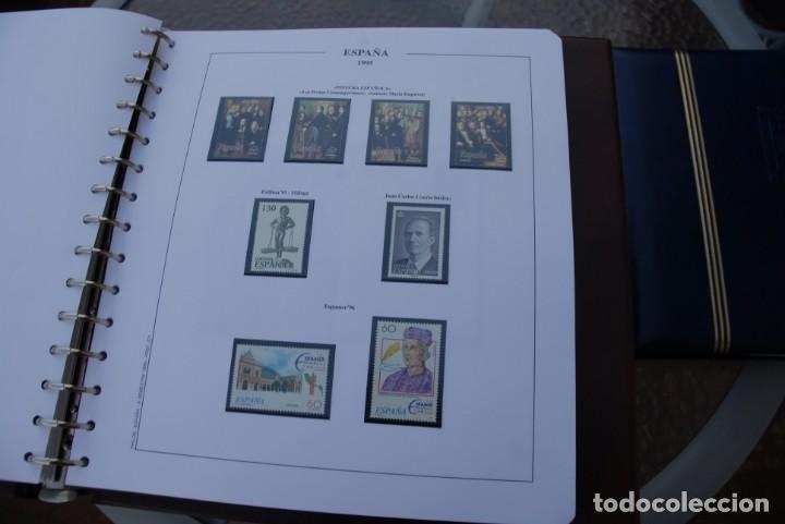 Sellos: ALBUM COLECCIÓN SELLOS ESPAÑA AÑOS 1992-1998. Hojas Philos. Nuevos. Completa. Ver fotos. - Foto 42 - 206839093
