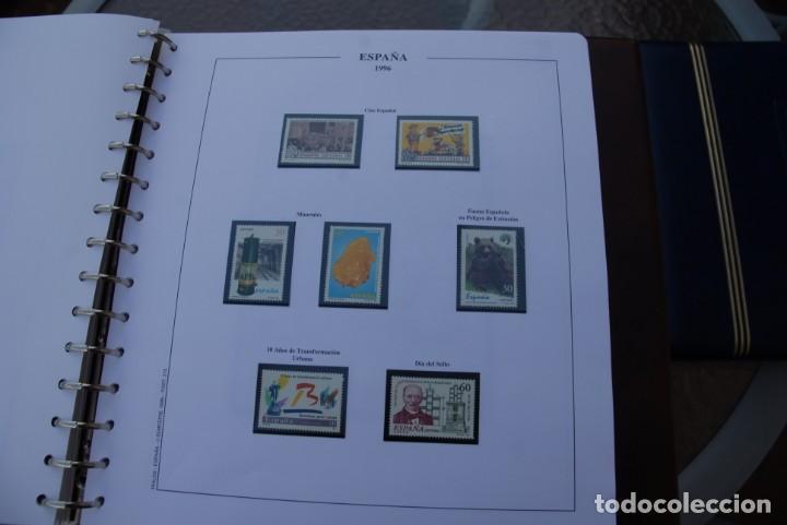 Sellos: ALBUM COLECCIÓN SELLOS ESPAÑA AÑOS 1992-1998. Hojas Philos. Nuevos. Completa. Ver fotos. - Foto 44 - 206839093