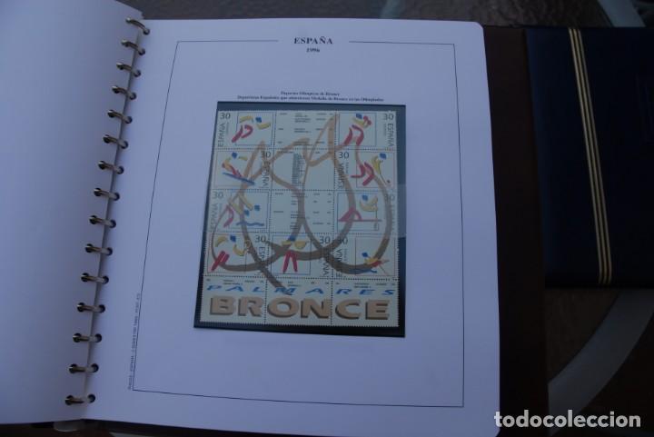 Sellos: ALBUM COLECCIÓN SELLOS ESPAÑA AÑOS 1992-1998. Hojas Philos. Nuevos. Completa. Ver fotos. - Foto 45 - 206839093