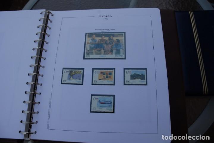 Sellos: ALBUM COLECCIÓN SELLOS ESPAÑA AÑOS 1992-1998. Hojas Philos. Nuevos. Completa. Ver fotos. - Foto 48 - 206839093