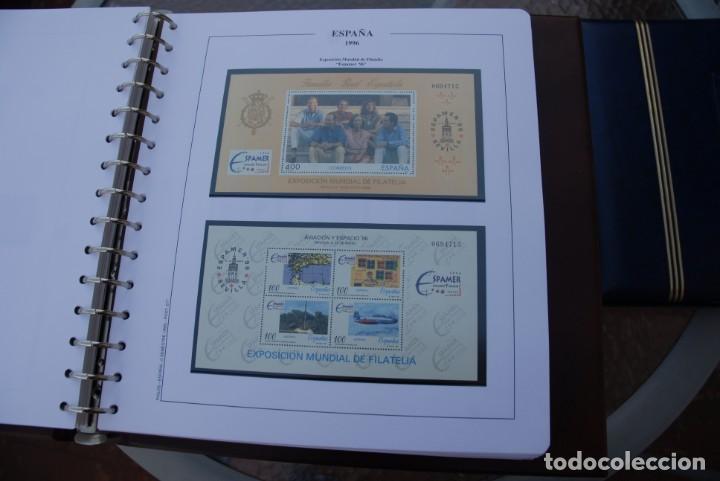 Sellos: ALBUM COLECCIÓN SELLOS ESPAÑA AÑOS 1992-1998. Hojas Philos. Nuevos. Completa. Ver fotos. - Foto 49 - 206839093