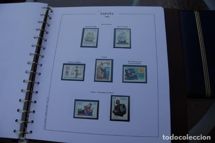 Sellos: ALBUM COLECCIÓN SELLOS ESPAÑA AÑOS 1992-1998. Hojas Philos. Nuevos. Completa. Ver fotos. - Foto 50 - 206839093