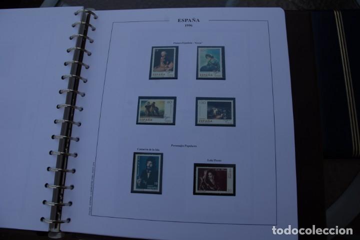 Sellos: ALBUM COLECCIÓN SELLOS ESPAÑA AÑOS 1992-1998. Hojas Philos. Nuevos. Completa. Ver fotos. - Foto 51 - 206839093