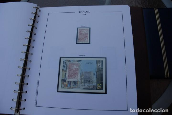 Sellos: ALBUM COLECCIÓN SELLOS ESPAÑA AÑOS 1992-1998. Hojas Philos. Nuevos. Completa. Ver fotos. - Foto 55 - 206839093