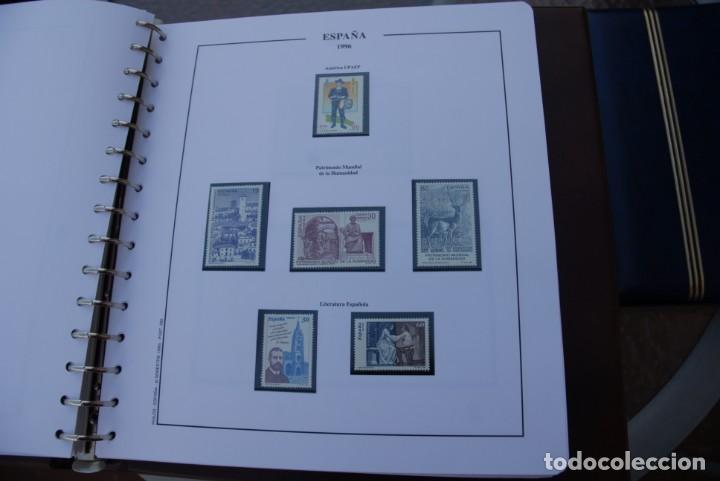 Sellos: ALBUM COLECCIÓN SELLOS ESPAÑA AÑOS 1992-1998. Hojas Philos. Nuevos. Completa. Ver fotos. - Foto 56 - 206839093