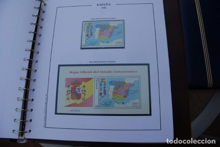 Sellos: ALBUM COLECCIÓN SELLOS ESPAÑA AÑOS 1992-1998. Hojas Philos. Nuevos. Completa. Ver fotos. - Foto 57 - 206839093