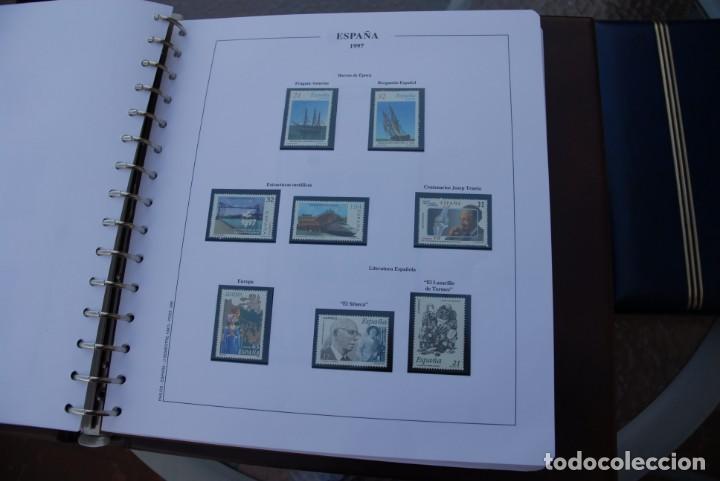 Sellos: ALBUM COLECCIÓN SELLOS ESPAÑA AÑOS 1992-1998. Hojas Philos. Nuevos. Completa. Ver fotos. - Foto 60 - 206839093
