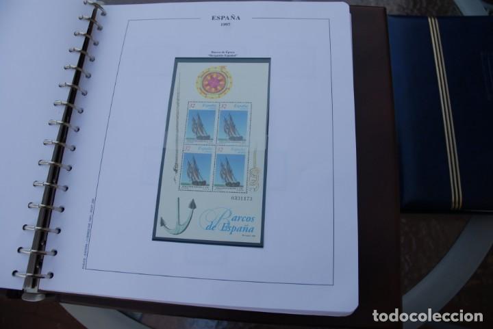 Sellos: ALBUM COLECCIÓN SELLOS ESPAÑA AÑOS 1992-1998. Hojas Philos. Nuevos. Completa. Ver fotos. - Foto 62 - 206839093