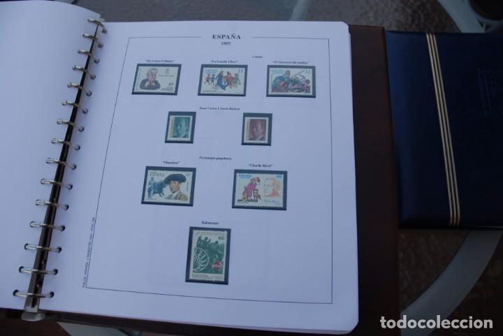 Sellos: ALBUM COLECCIÓN SELLOS ESPAÑA AÑOS 1992-1998. Hojas Philos. Nuevos. Completa. Ver fotos. - Foto 63 - 206839093