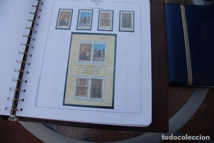 Sellos: ALBUM COLECCIÓN SELLOS ESPAÑA AÑOS 1992-1998. Hojas Philos. Nuevos. Completa. Ver fotos. - Foto 64 - 206839093