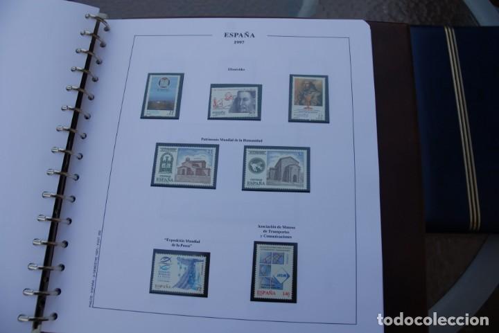 Sellos: ALBUM COLECCIÓN SELLOS ESPAÑA AÑOS 1992-1998. Hojas Philos. Nuevos. Completa. Ver fotos. - Foto 69 - 206839093