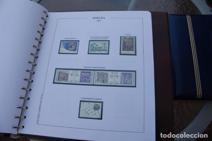Sellos: ALBUM COLECCIÓN SELLOS ESPAÑA AÑOS 1992-1998. Hojas Philos. Nuevos. Completa. Ver fotos. - Foto 71 - 206839093