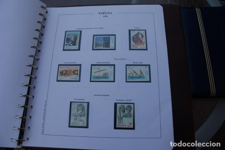 Sellos: ALBUM COLECCIÓN SELLOS ESPAÑA AÑOS 1992-1998. Hojas Philos. Nuevos. Completa. Ver fotos. - Foto 73 - 206839093
