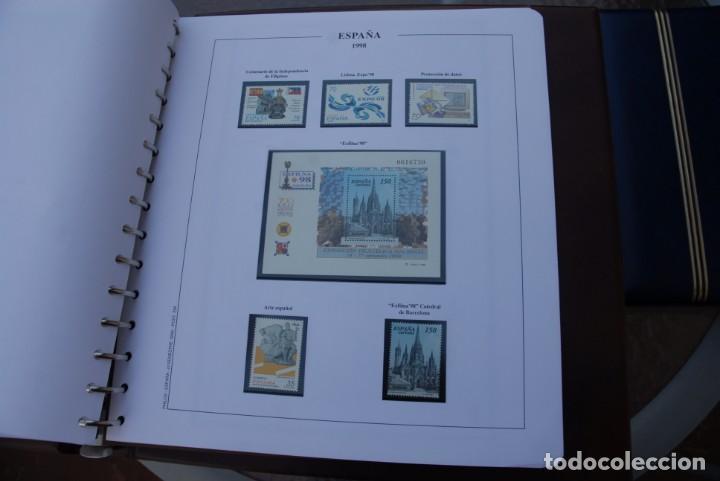 Sellos: ALBUM COLECCIÓN SELLOS ESPAÑA AÑOS 1992-1998. Hojas Philos. Nuevos. Completa. Ver fotos. - Foto 76 - 206839093